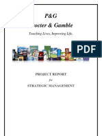 SM Project Report - P&G