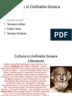 Cultura Si Civilizatia Greaca