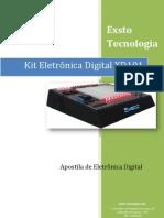 Apostila do Kit Eletrônica Digital XD101 - RevC