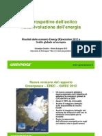 Il ruolo dell'eolico nella rivoluzione energetica