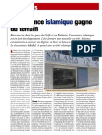 Lassurance Islamique Gagne Du Terrain