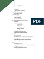 E- Procurement Documentation