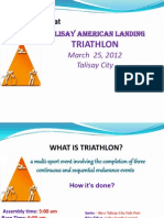 Triathlon Security Plan 2012