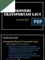 Ekonomi Transportasi Laut