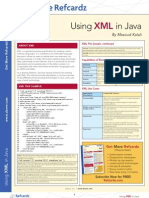 Using XML in Java