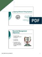 DesigningEfficientFilingSystems Handout