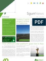 SgurrNews Q2 2012
