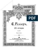 Stephen Heller - Op.125 24 Etudes Despression Et de Rhythme