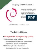 Debian Packaging Tutorial
