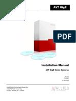 70-0062 GigE Installation Manual