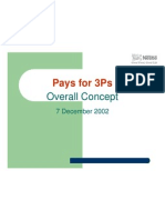 Pay for 3Ps-Overall Concept