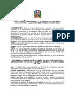 380-96 Reglamento de la ley de inversión extranjera