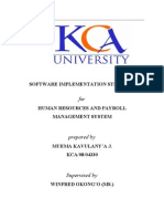 Implementation Strategy for Payroll Management System1