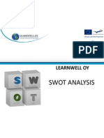 Swot Analysis Learnwell Oy for Segundas Lenguas Project June 2012