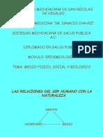 Medio Fisico, Social y Biologico