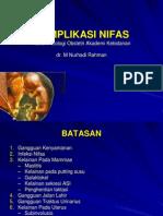 Patologi Kebidanan Komplikasi Nifas