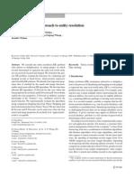 Entity Analysis Resolution