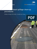 REPORT_TRL_Report_PPR509 Review of Diesel Spillage Clean-up Procedures