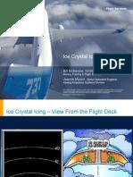 Ice Crystal Icing
