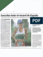 Cristina González - Superdeporte 12.6.2012