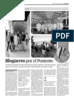 Los blogueros de HomeAway por el poniente de Granada
