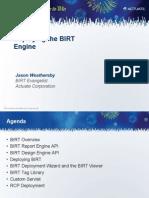 A Iuc Deploying Birt Engine