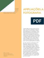 ampliações - a fotografia