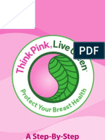 Breastcancerorg Think Pink Live Green Booklet - ENGLISH Language