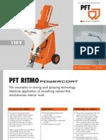 Pft Ritmo Powercoat 110v Gb