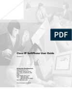Cisco IP SoftPhone User Guide