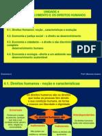 4- O Desenvolvimento e Os Direitos Humanos