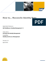 How to Reconcile Identity Data