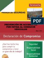 Presentacion Parada de Seguridad Mayo