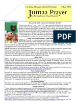 Jumaa Prayer 15june12