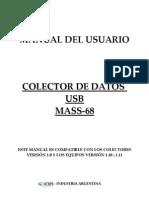 Colector de Datos USB MASS-68