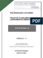 Projetos, Planejamentos e Licenciamentos Ambientais