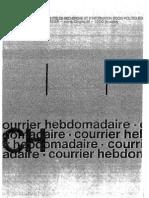 De becker - La collaboration en Belgique (1940-1944) ou une révolution avortée