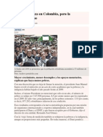 ensayo   historia de las ideas politicas  Bajó la pobreza en Colombia