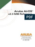 Aruba MIB Reference