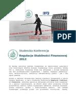 Studencka_Konferencja_SGH_Regulacje_Stabilności_Finansowej_2012