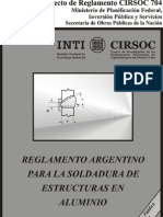 Cirsoc 704-Soldaduras Estructuras Aluminio