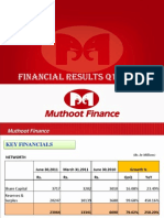 Muthoot Finance Limited - Form Annual Report(Jul-15-2011)