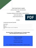 Fiche d'Inscription Formation Mme Vasseur Et Mme Klett