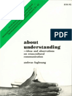 About Understanding - ideas and observations on cross-cultural communication