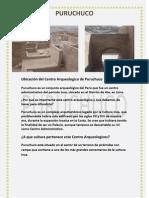 Ubicación del Centro Arqueologico de Puruchuco