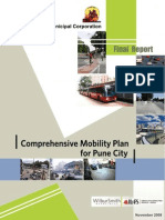 Pune Municipal Corporation - 2008 - Comprehensive Mobility Plan for Pune City