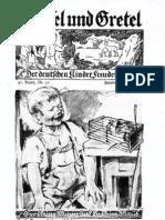 Hänsel Und Gretel - Der Deutschen Kinder Freudenborn 42. Band, Nr. 10 (1932)