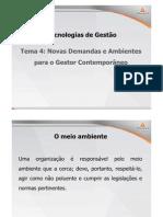 ADM Tecnologias de Gestao Teleaula4 Tema4 Slide