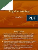 Legal Reasoning