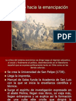 Proceso de Independencia de Chile 1810-1818